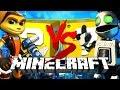 Minecraft | Ratchet LUCKY BLOCK CHALLENGE | Clank Fights!!