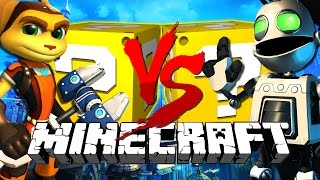 Download Minecraft   Ratchet LUCKY BLOCK CHALLENGE   Clank Fights!! MP3 and video free