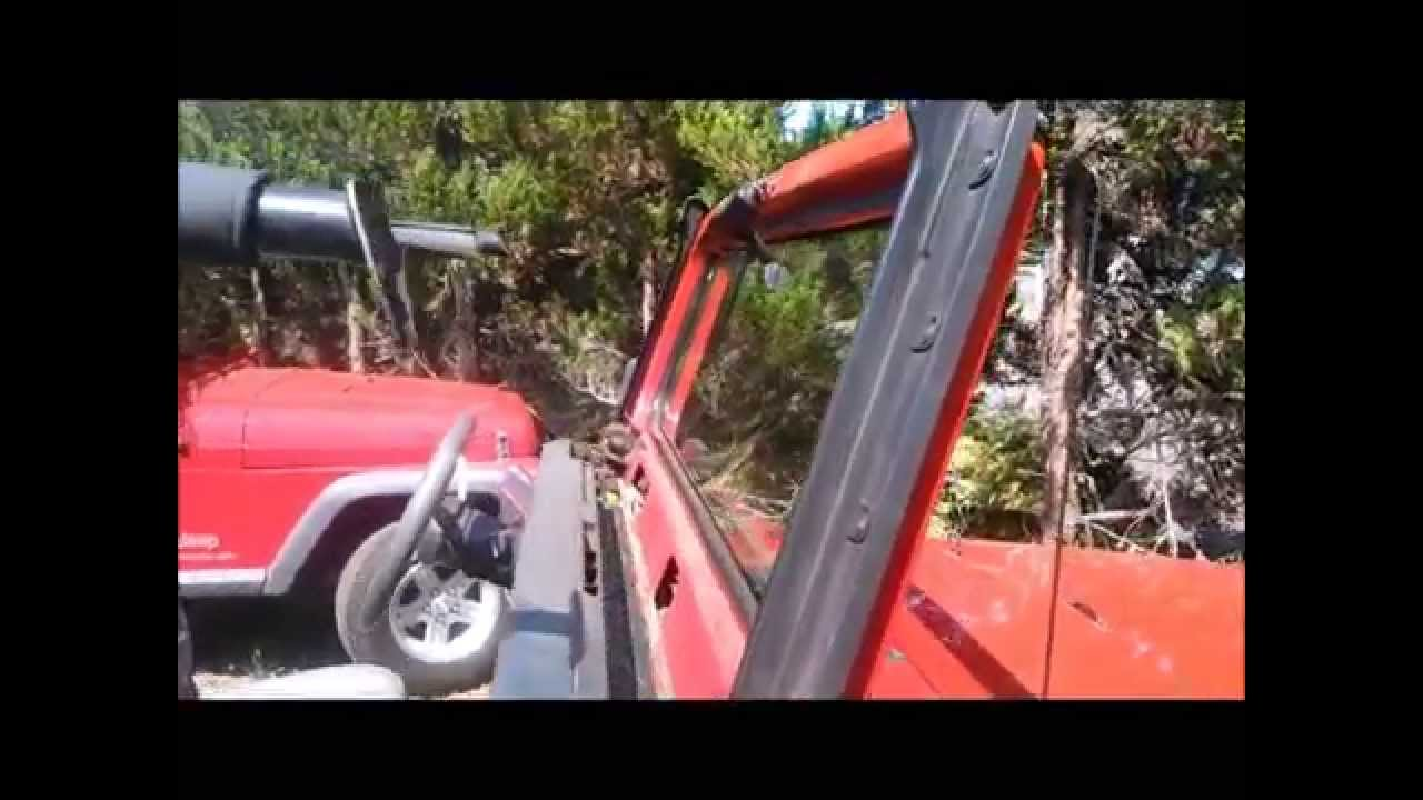 1994 Wrangler Windshield Seal Youtube