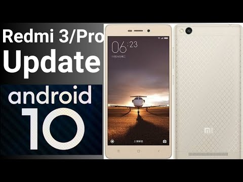 REDMI 3/PRO IDO UPDATE ANDROID 10
