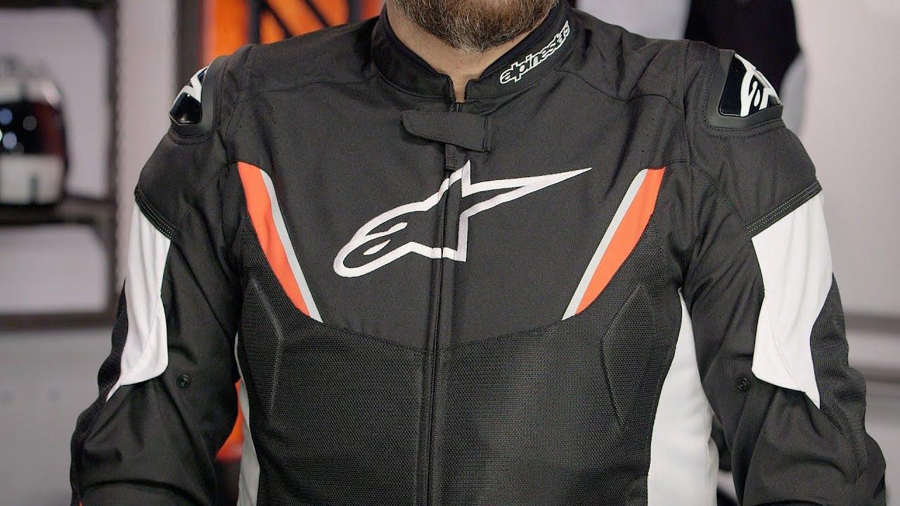 Alpinestars Motorcycle Jacket >> Alpinestars T-GP R Air Jacket Review at RevZilla.com - YouTube