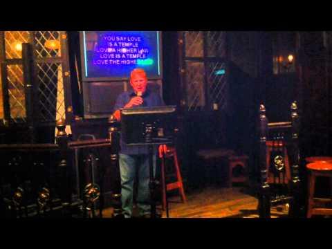 Scott + 100 oz of Guinness = Karaoke at Midnight