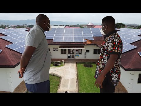 I Left America & Now Owns Ghana's Largest Solar Panel Instal
