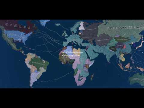Luxembourg World Conquest Timelapse, (cheats) AI Only.