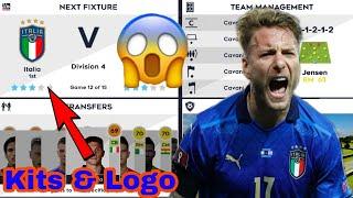Make Italia National Team Kits Logo 2021 Dream League Soccer 2021 Kits Logo Italia