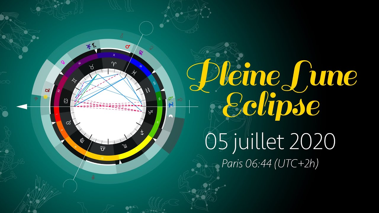 Pleine Lune et éclipse du 05 juillet 2020. - YouTube