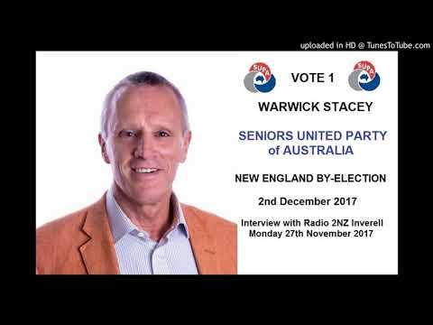 Warwick Stacey Interview with Radio 2NZ Inverell