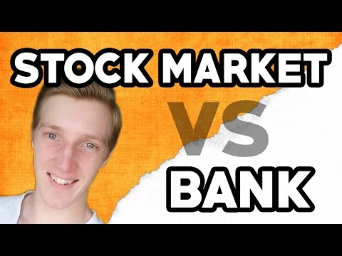Where Should I Keep My Savings? Bank vs Stock Market