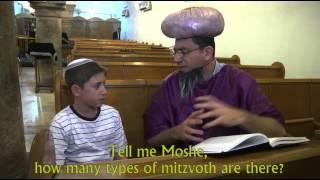סרט בר מצווה - משה צבי ונס התפילין
