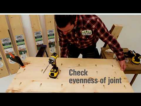 Live Edge Timber DIY wood project: How to build a live edge tabletop