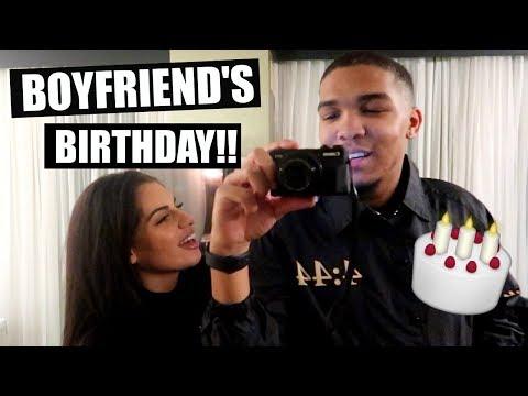 BOYFRIEND'S BIRTHDAY SURPRISE!!