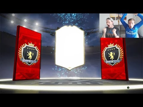 OMFG 3RD ICON IN A PACK!! 😱- OUR BEST ELITE 1 FUT CHAMPIONS REWARDS EVER! FIFA 19 PACK OPENING