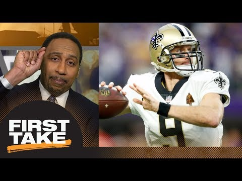 Stephen A. Smith picks Saints as biggest obstacle to Eagles repeat | First Take | ESPN