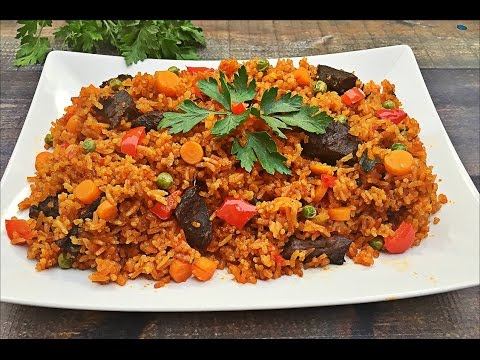 Jollof Rice Recipe - How to make Jollof Rice