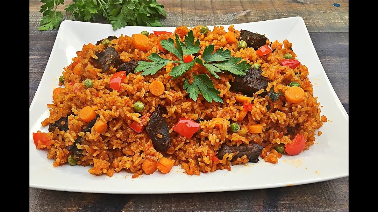 Jollof rice recipe how to make jollof rice youtube jollof rice recipe how to make jollof rice ccuart Gallery