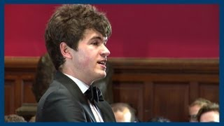 Ivo Graham | Size Doesn't Matter | Oxford Union
