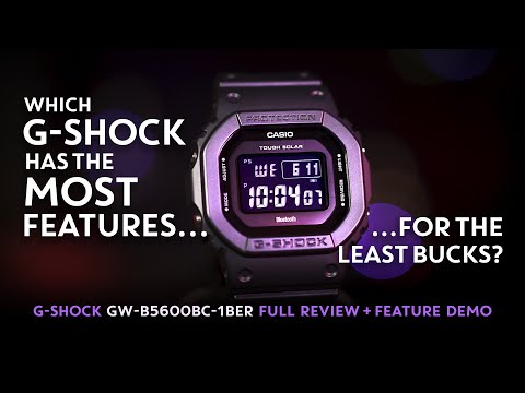 G-Shock GW-B5600BC = MAX FEATURES / MINIMUM COST (Best Value G-Shock)