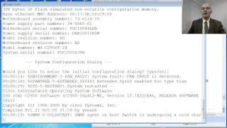 CS071 08.12 Switch Cisco - Resetear configuración del 2950(Muestra cómo eliminar el password o contraseña de un Switch Cisco 2950 comprado usado para un laboratorio de CCENT o CCNA., 2013-05-30T10:20:02.000Z)