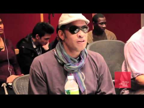Berklee College of Music: Inside the Studio with Raul Midon