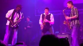 Michael Lington with Shilts & Everette Harp, Smooth Jazz Festival Augsburg 2015 (Germany)