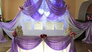 Украшение свадебного зала, украшение зала на свадьбу, оформление зала от  MAGNATUS.BY