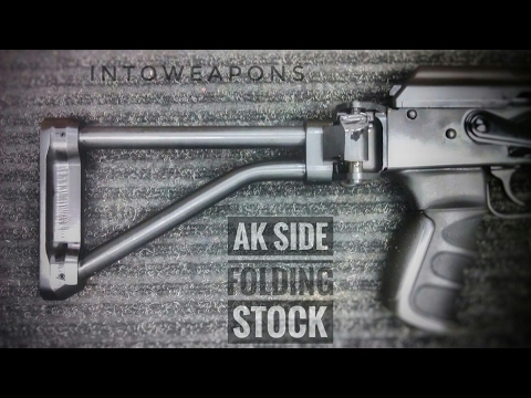 WASR 10/63 AK Upgrade:  Bonesteel Arms Galil Folding AK Stock