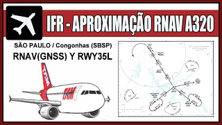 FSX Aproximação RNAV (GNSS) #2 - PRÁTICA SBSP Airbus A320