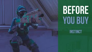 Before You Buy | Instinct | Fortnite Skin Review
