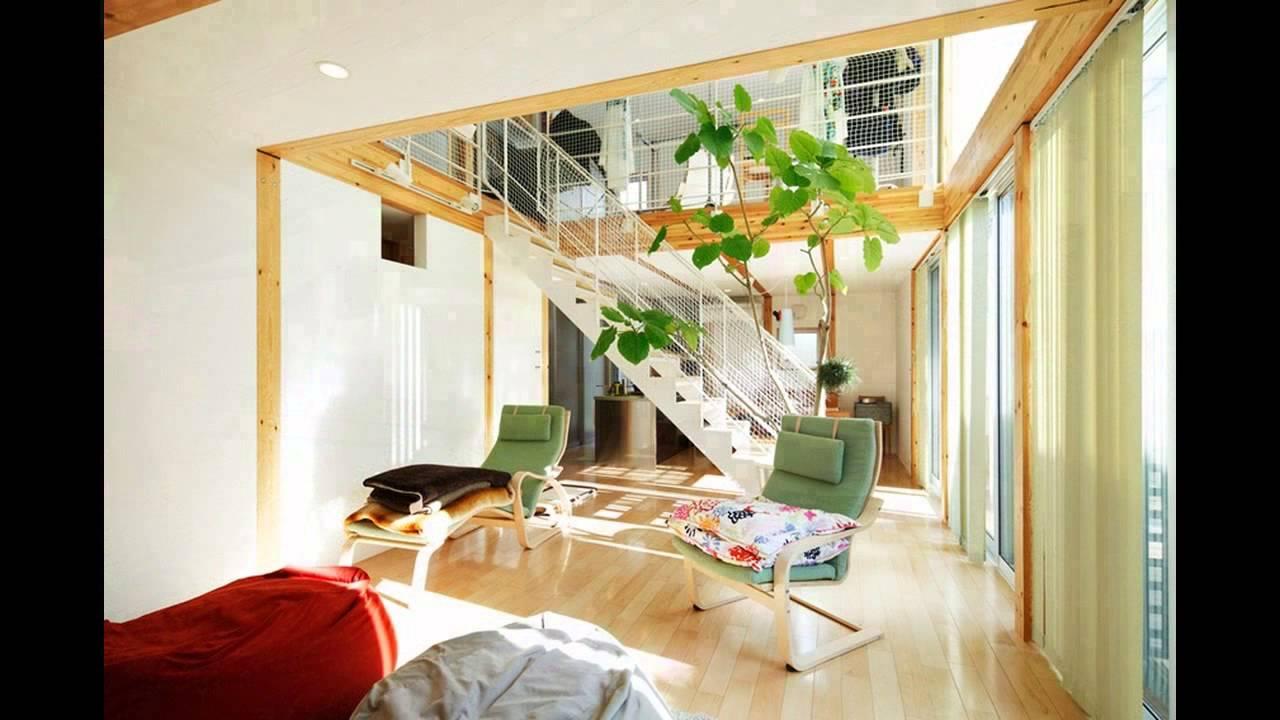 Japanese minimalist home design youtube for Japanese minimalist house