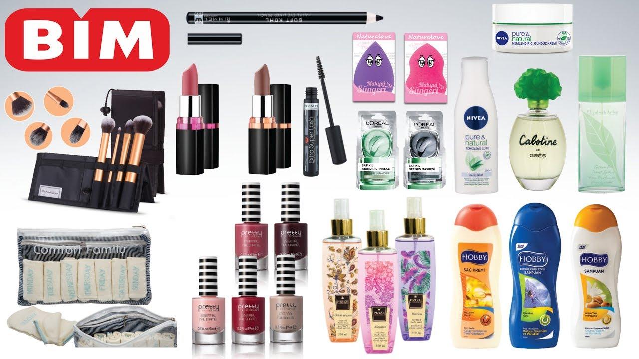 Bim Kozmetik ürünleri Bim 6 Mart 2018 Sali Bim Indirim 6 Mart