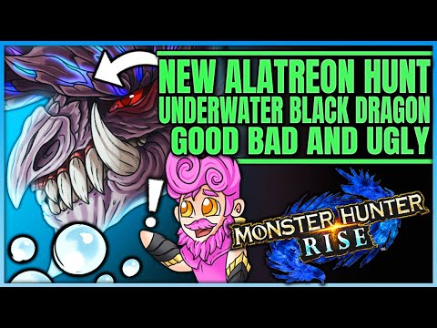 Underwater Alatreon Hunt - Deep Sea Black Dragon - Fun or Not - Monster Hunter! (Discussion/Theory) |
