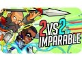 GONUH: EQUIPO IMPARABLE! | BRAWLHALLA 2 vs 2 - Gona y Luh
