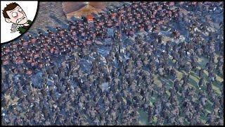 DESPERATE HOUSE TULLY HUGE SURVIVAL BATTLE! Seven Kingdoms Total War (Attila Mod) Gameplay