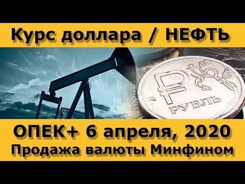Новая сделка ОПЕК+ / Продажа валюты Минфином РФ / Свежие новости