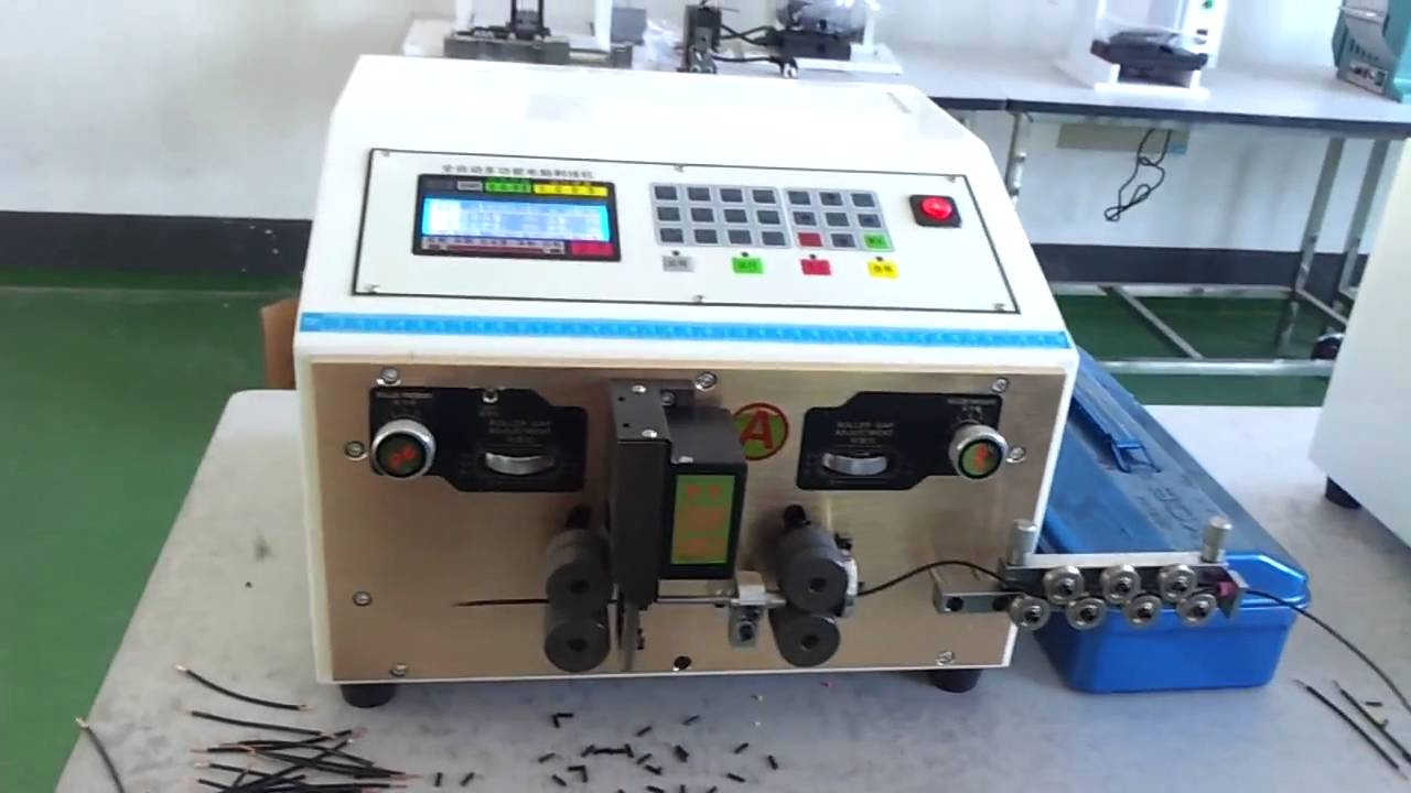 medium resolution of cable stripping and cutting machine for wire harness manufacturing wiring harness manufacturing machines