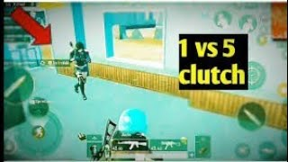 1 VS 5 CLUTCH ||11KILLS || SNAKE ENDING || INSANE GAME PLAY || PUBG MOBLIE INDIA
