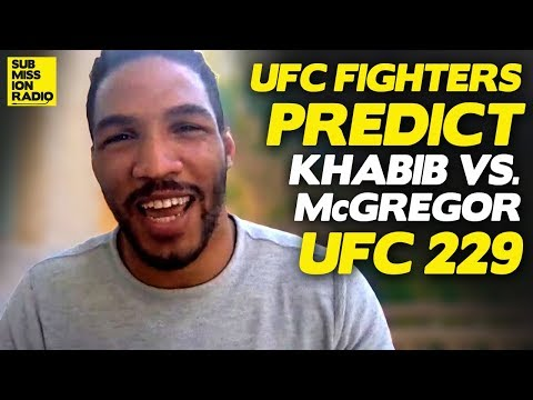Pros Predict Conor McGregor vs  Khabib Nurmagomedov | UFC 229
