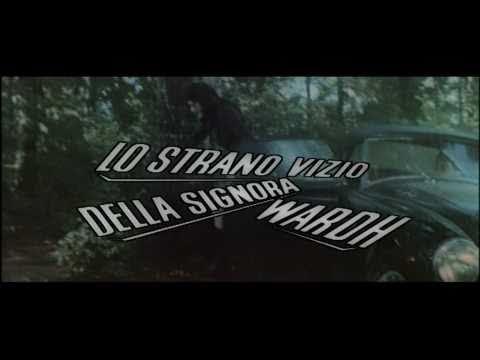 Trailer do filme O Estranho Vício da Senhora Wardh