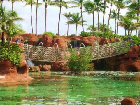 BAHAMAS Nassau Eluthera Exumas Adastra Gardens Sheraton Hotel Cable Beach Alantis Paradise Island