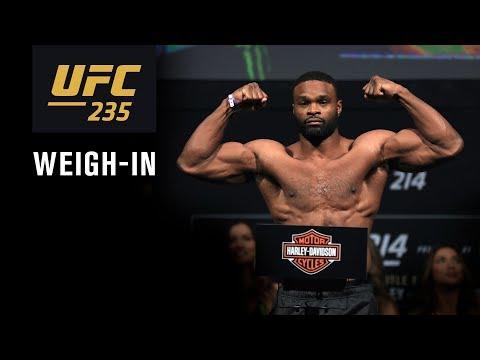 UFC 235: Jones vs. Smith - Weigh-in / Взвешивание