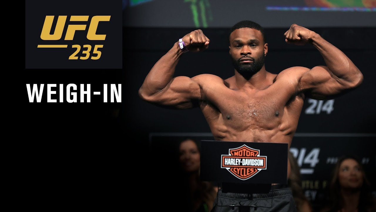 UFC 235: Jones vs. Smith - Weigh-in / Взвешивание