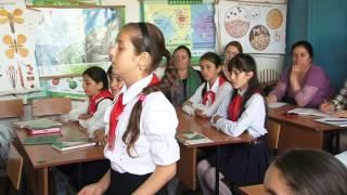 Открытый урок Родного языка в СОШ №1 с.Куркент.