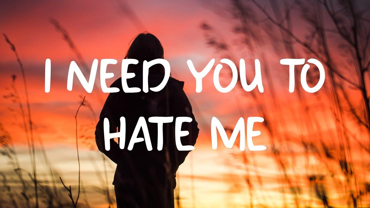 JC Stewart   I Need You To Hate Me Lyrics Chords   Chordify