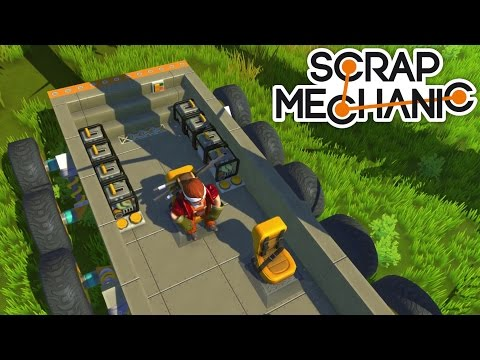 Let's Play Scrap Mechanic #14 - Der Panzer 1/2 [Deutsch/German]