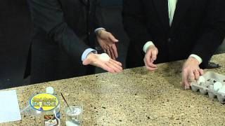 Folding Egg - Cool Science Experiment