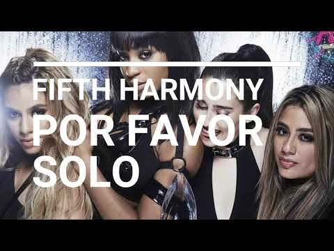 Fifth Harmony - Por favor (NO PITBULL) SPANISH ONLY