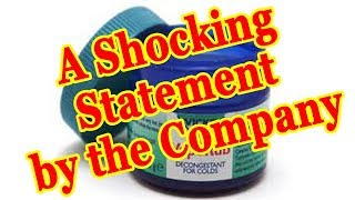 Vicks Vaporub For Toenail Fungus Treatment - A Shocking Statement by the Company!!