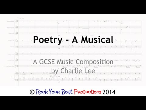 Poetry A Musical - GCSE Music