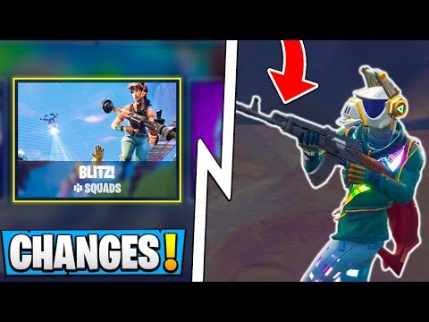 *ALL* Fortnite 6.22 Changes!   New Storm Damage, Heavy AR, Blitz! ( Update )