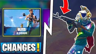 *ALL* Fortnite 6.22 Changes! | New Storm Damage, Heavy AR, Blitz! ( Update )